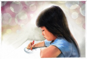 watercolor-portrait-1050723_1920 - Little girl drawing - Pixabay no attribution.jpg